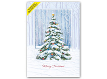 Celebration Tree Holiday Cards