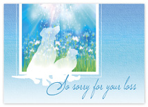 Guardian Angels Sympathy Cards